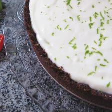 Torta Mousse de Limão