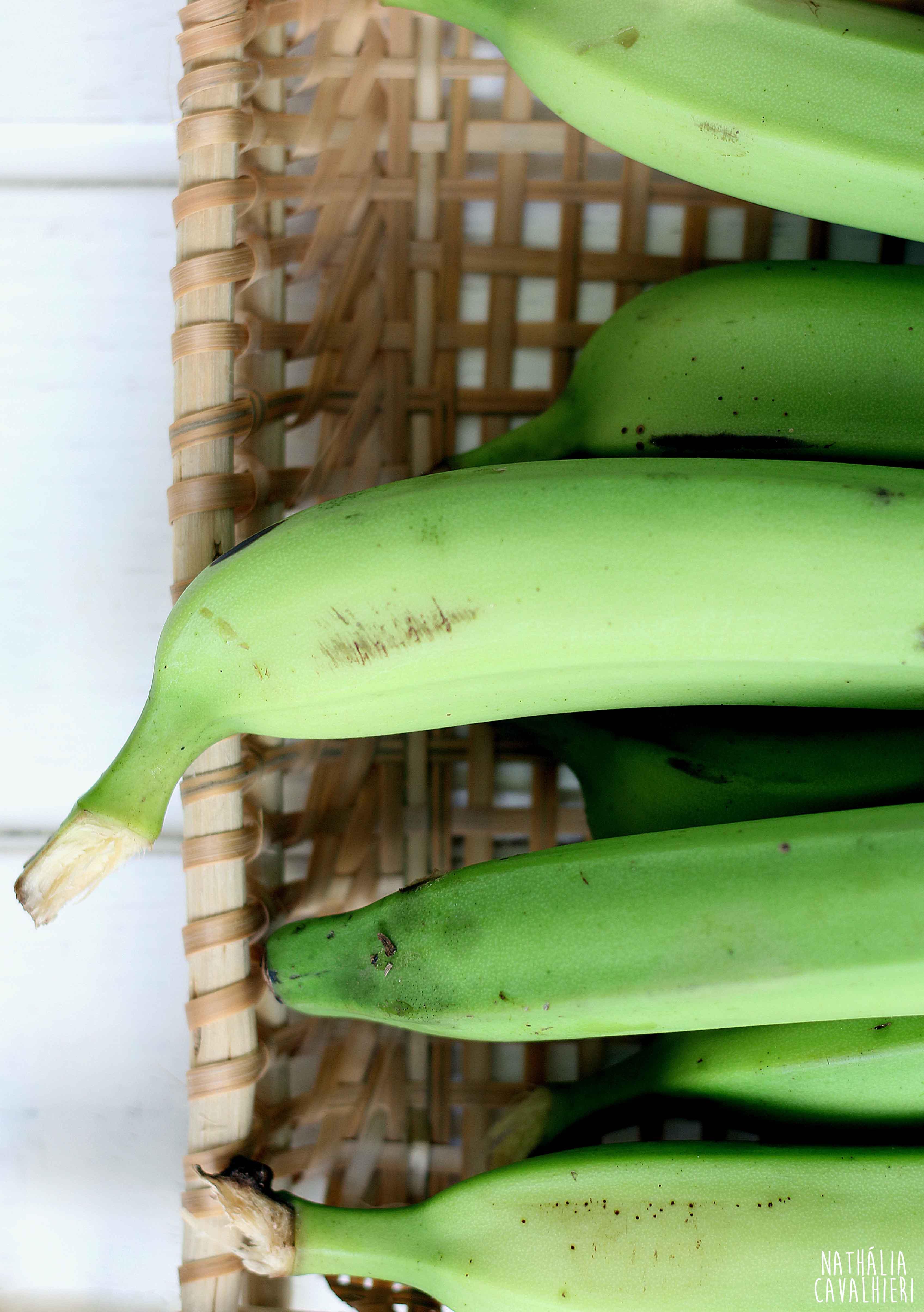 Como fazer Biomassa de Banana Verde?